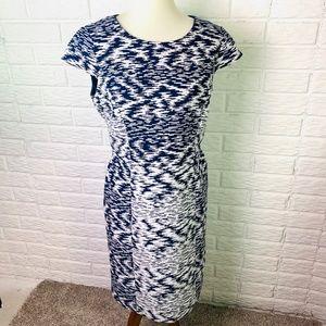 Antonio Melani Sheath Dress Size 10 Cap Sleeves
